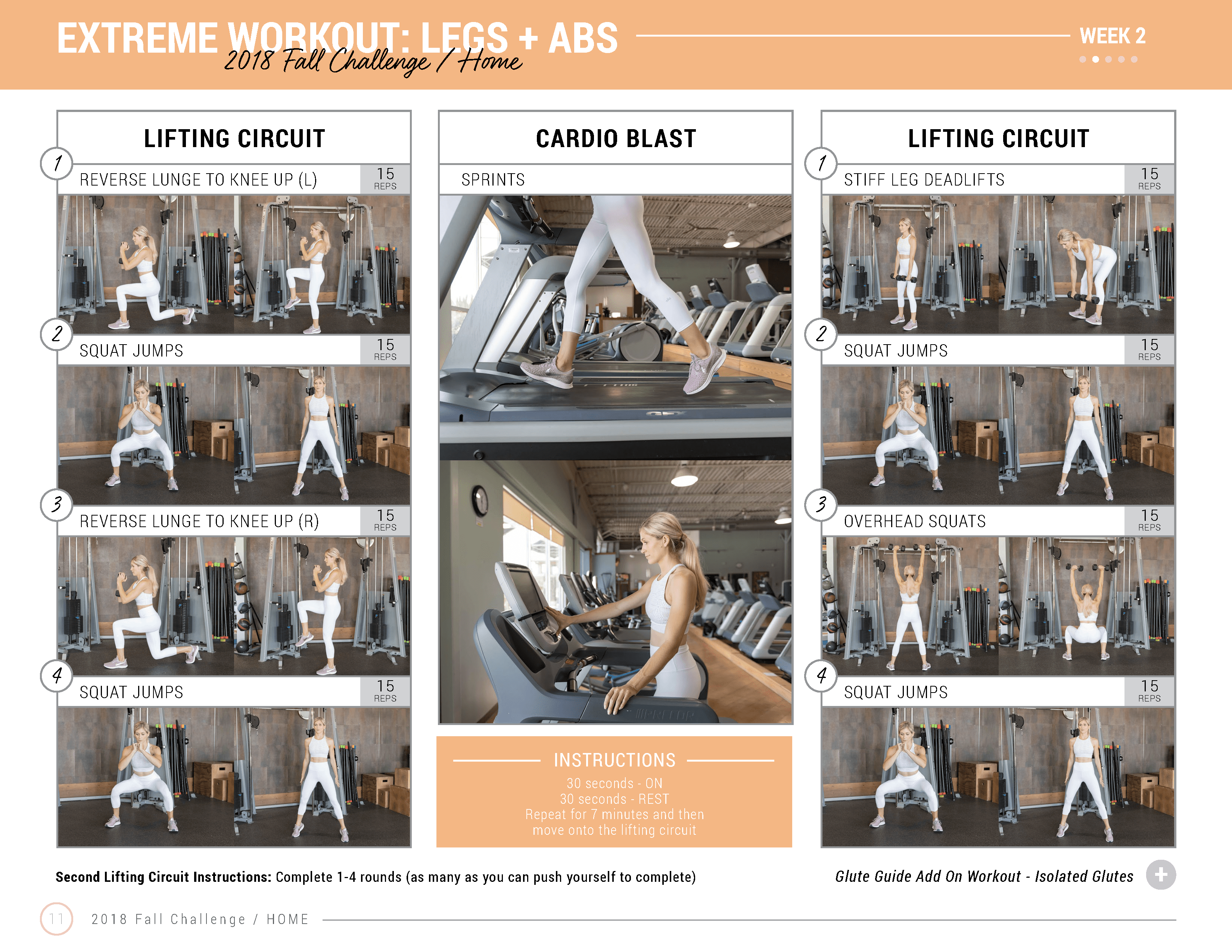 legs and abs weight training workout for home